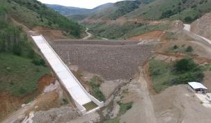 Özlüce Barajı 4 bin 560 dekar araziyi sulayacak
