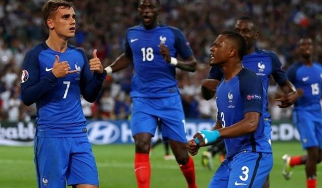 EURO 2016'da son finalist ev sahibi Fransa oldu
